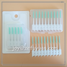 Hot Selling Gum Soft Silicone Wire Free Interdental Brush Sticks
