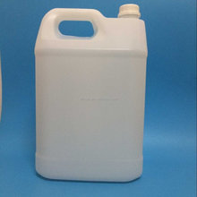 10L hdpe plastic barrel white color plastic jerry can with handle