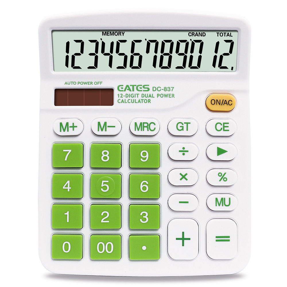 General purpose office solar calculator Business gift calculator cheap promotional calculator