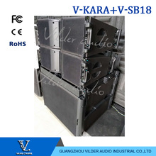 V-KARA + V- SB18 Professional Speaker System Dual 8 Inch Line Array 18 Inch Subwoofer High Quality Sound Equipment
