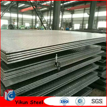 China Wholesale Custom Tear Drop mild Chequered Steel Plate