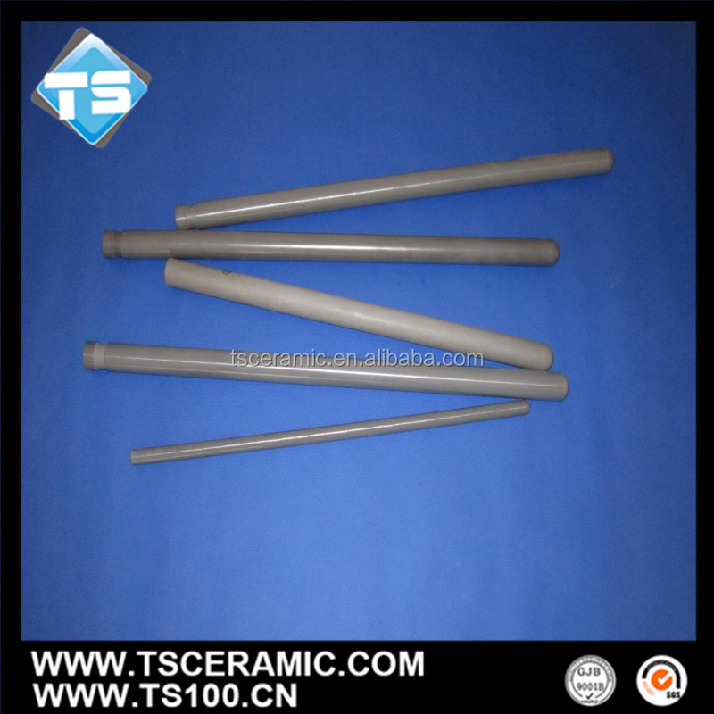Silicon Nitride 28X16mmx810mmm Ceramic Thermocouple Protection Tube,China Maker