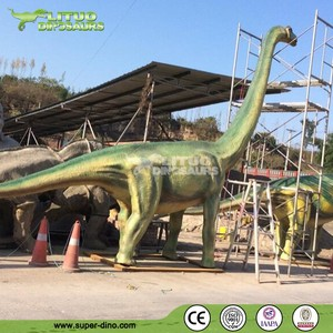 Resin Statue Life Size Models Fiberglass Dinosaur For Theme Mini Golf