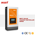 MUST new design 12V 24V 36V 48V 80A MPPT solar charge controller with 150VDC