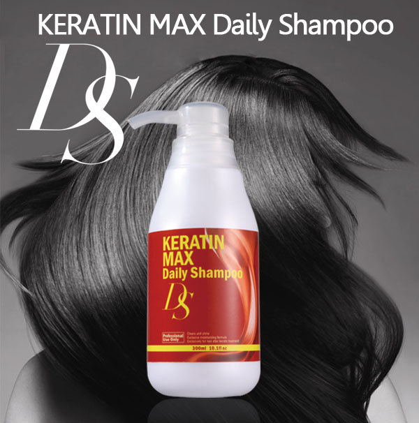 DS KERATIN MAS High quality reliable daily care shampoo gentle to a scalp and skin