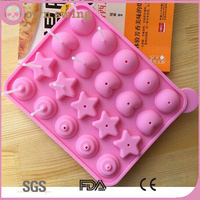 Assorted Shapes Silicone Pop Chocolate Mold Lollipop Molds/Silicone Tray Pop Cake Stick Mould/Lollipop Party Cupcake Baking Mold