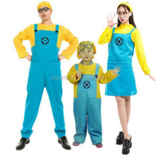 Children Costume Minions Kid Costume Yellow And Light Blue