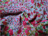 100%polyester printed chiffon fabric beautiful flower design for dress high quality popular in dubai