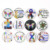 Brand New Interchangeable Jewelry DIY 18mm Cabochon Buttons Puzzle Autism Button Fit Snap Bracelet Necklace Ring Earrings Bijoux