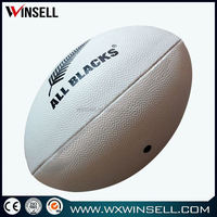 Top selling popular synthetic leather match rugby ball