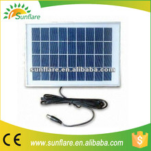 Hot sale 9v/6w small power solar panel