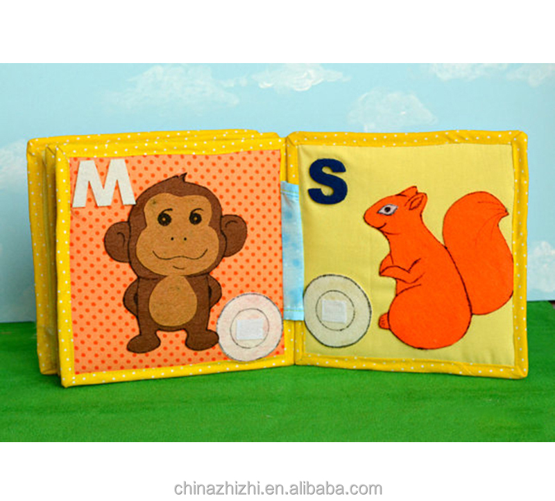 unbranded product children educational toys 1 month baby gift kids books educational books fabric kids activity book