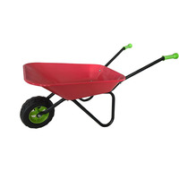 Cheap wheelbarrow for kids with single wheel