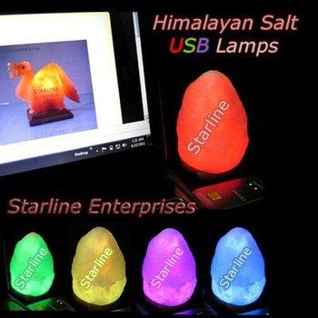 Himalayan Salt Lamps Manufacturer : Usb Salt Lamps,Himalayan Salt Rgb Led Lamps Manufacturers Pakistan - Buy Usb Mini Salt Lamp ...