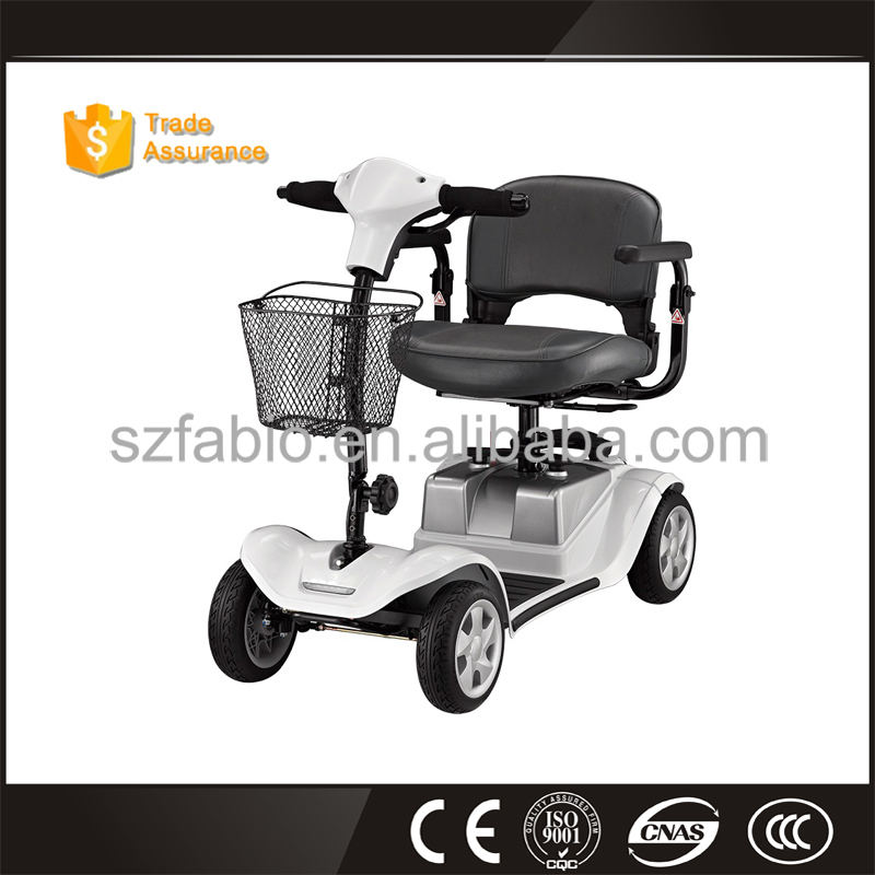 Hot Heavy-duty Four Wheel Disabled/Handicapped Electric Mobility Scooter (Taiwan Motor & PG Controller) with Double Seats & CE