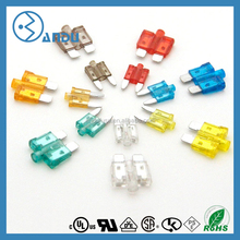 Factory TS 16949 cartification zinc MINI Blade Fuse Assortment Auto Car Motorcycle SUV FUSES