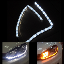 VISION Flexible Led Car Daytime Running Lights LED Strip Stretch Length DRL