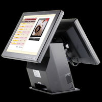 15''cheap all in one touch screen pos