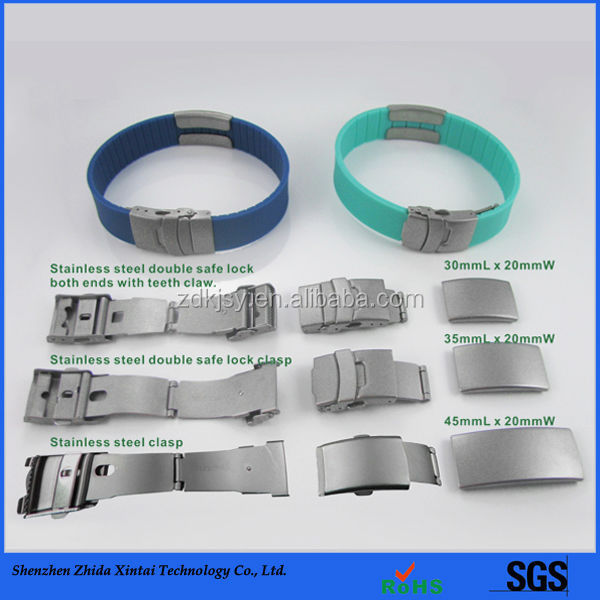 Factory direct selling promotional silicon pulseiras+e+braceletes