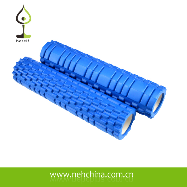 Nature Rubber Deep Massage Foam Roller for Yoga Fitness