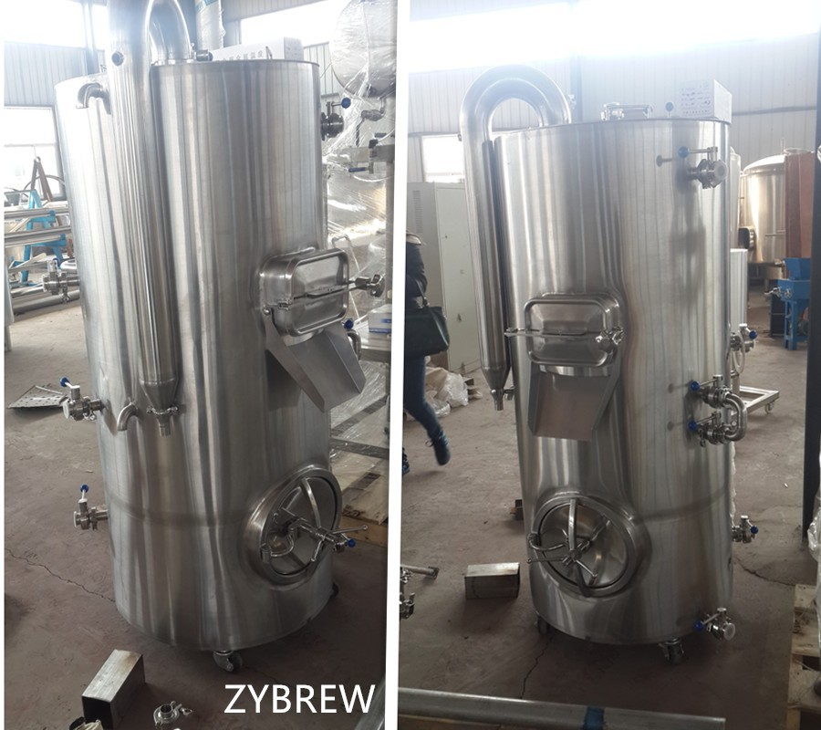 new design 300L,600L,800L,1000L beer brewing equipment,one vessel for brewhouse unit