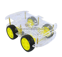 Longer Version 4WD Double Layer Smart Robot Car Chassis Kit