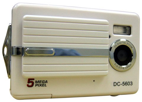 Digital Camera 5 Megapixel with 2.5-inch TFT Display