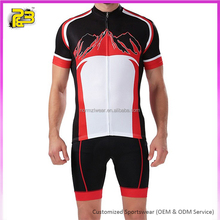 Top Quality biking jersey manufacturer decoration new design cycling jersey custom men cycling kit