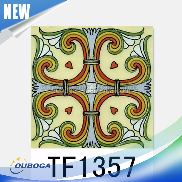 Wholesale floor ceramic tile cheap mexican tile colorful tile made in spain