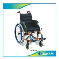 Child Wheelchair Steel Wheelchair on sale SC9030B