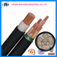 3 4 5 Core Copper Conductor Low Voltage Armoured XLPE Insulated cable electric Power Cable