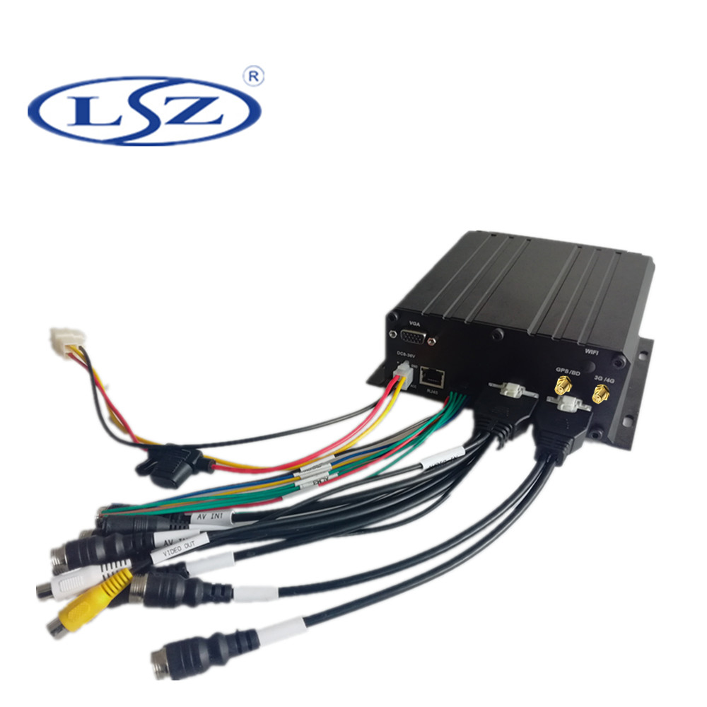 Ahd hdd 1080P 6channel gps 3g <strong>mobile</strong> dvr for bus vehicle truck car school bus
