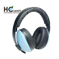 HC707 ANSI S3.19 cheap sound proof ear muff headphone manufacturer with baby toy test