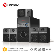 Cheap 35W 5.1channel multimedia home theatre speaker system with subwoofer (LY-HT602)