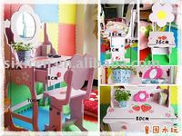 children dresser table furniture/children's dresser desk and chair
