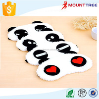 2015 Fashion High Quality Soft Cartoon Panda Eye Mask
