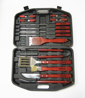 Promotional bbq grill tool set 18 pcs