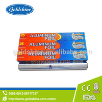 Goldshine food packing aluminum foil for freezing meats