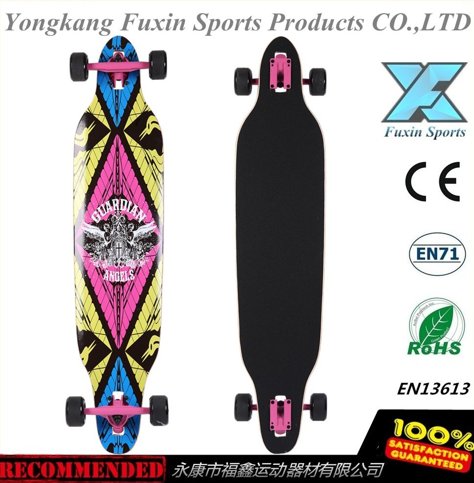 42'' downhill Long board Freestyle Funboards Longboards skaten Skateboard