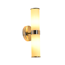 Top Quality Indoor Modern Fancy White Glass Wall Lamp Sconce Vanity Wall Light Fixture For Restaurant Hotel Home