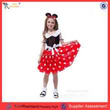 PGCC2031Wholesale kids minnie-mouse costume carnival fancy dress costume