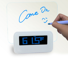 ShengHui Hot Selling CE ROHS New LED Message Board USB Alarm Clock