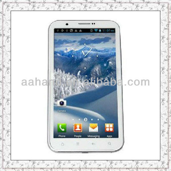 6 inch Android phone Capacitive touch 4.1.1 MTK6577 Dual core 1G MHZ