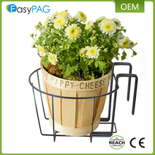Outdoor decorative design factory price metal hanging plant stand