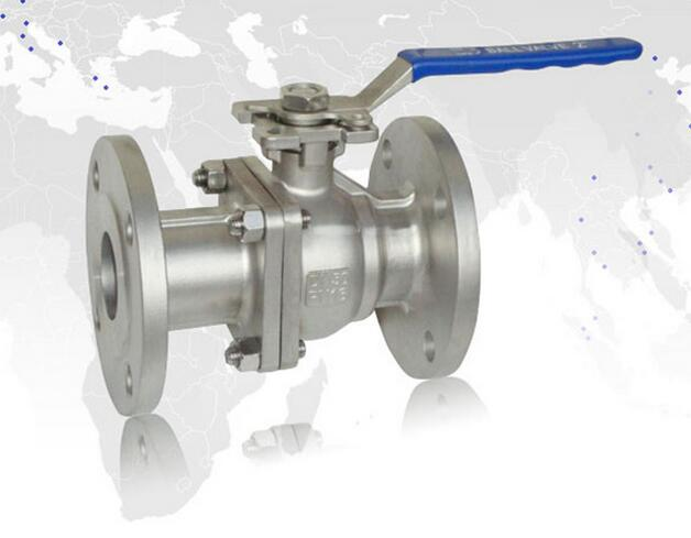 2PC JIS Flanged Ball Valve With Direct ISO5211 Mounting Pad