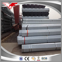 Q235 Mild Carbon Welded Galvanized Steel Pipe / Tube Manufacturer for greenhouse