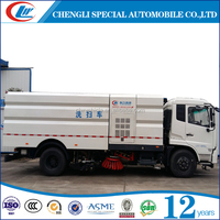 4x2 Euro 3 road sweeper truck road cleaning truck street cleaning truck for sale