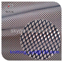 Navy Polyester Sportswear, T-Shirt ,Garment, Home Textile Poly Mesh Fabric
