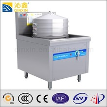 high-capacity stainless steamer using small steam boilers steamed bun steamer