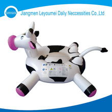 Factory Directly Supply Inflatable Pool Cow Animal ride-ons Toys for kids